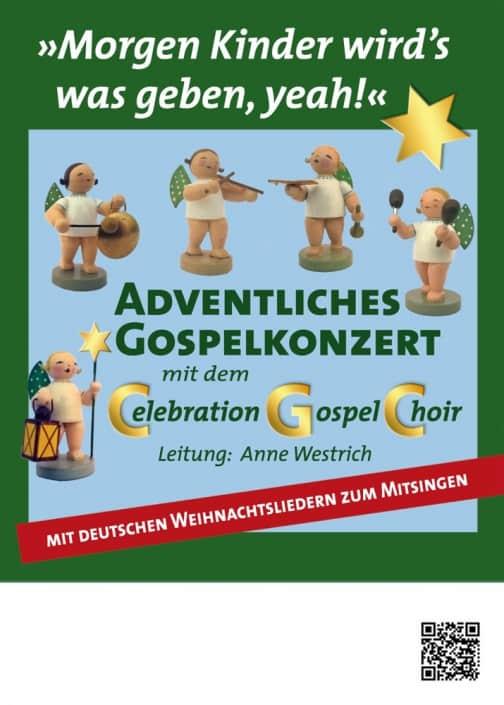 Flyer Weihnachtskonzert
